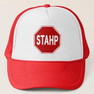 STAHP! Sign Trucker Hat