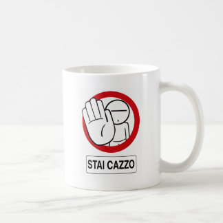 STAI CAZZO Lifestyle Classic White Coffee Mug