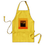Stain Glass Art Deco Adult Apron