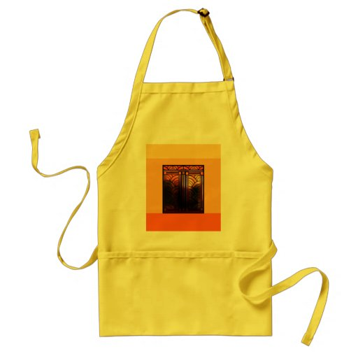 Stain Glass Art Deco Aprons