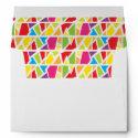 Stain Glass Customizable Envelope envelope