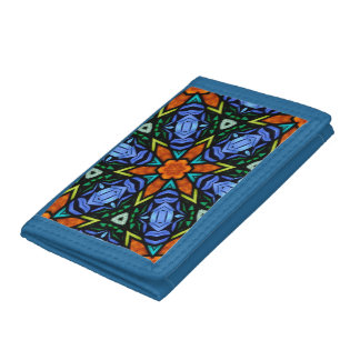Stain Glass Design Wallet