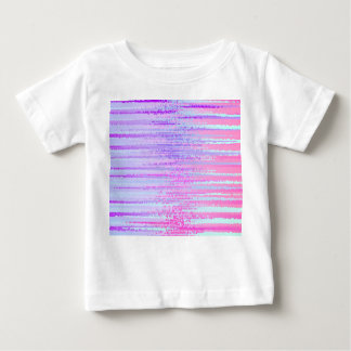 Stain Glass Effect Abstract Striped Colorful Print Baby T-Shirt
