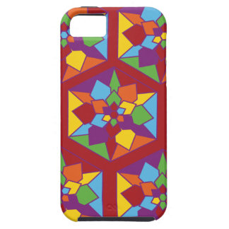 Stain Glass Flowers iPhone 5/5S Covers