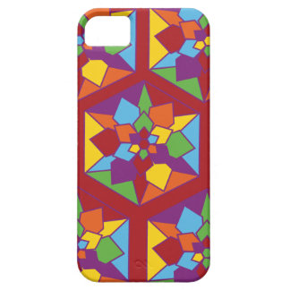 Stain Glass Flowers iPhone 5 Covers