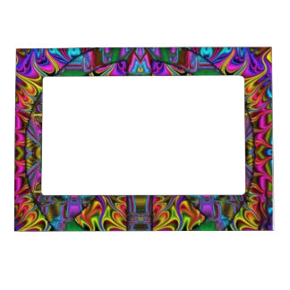 Stain Glass Magnetic Picture Frame