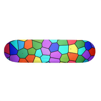 Stain Glass Rainbow Skateboard deck