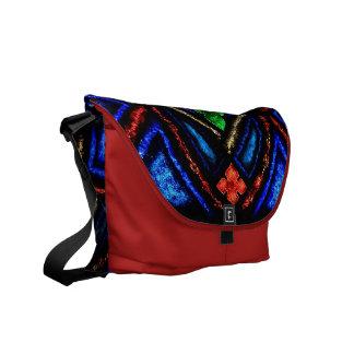 Stain Glass Rickshaw Messenger Bag