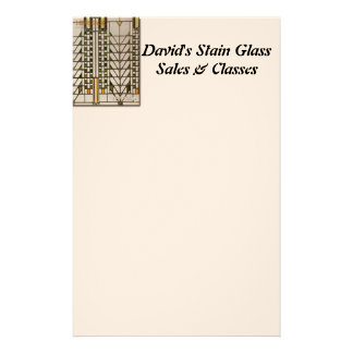 Stain Glass Stationery