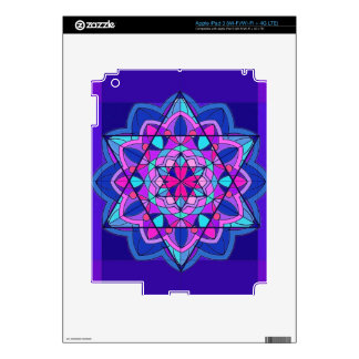 Stain Glass The Star of David iPad 3 Skins