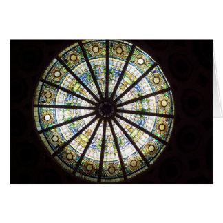 Stain Glass Window 2 Card