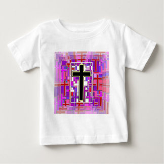 Staind Glass Cross Perspective. Infant T-shirt