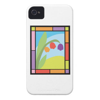 Staind Glass Tulips iPhone 4 Case-Mate Case