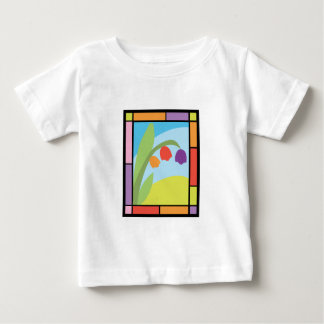 Staind Glass Tulips T Shirts