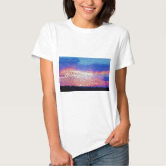 Stainded Glass of Sunset T-shirt
