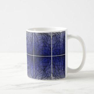 Stained Blue Mug