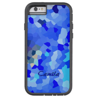 Stained Blue Tough Xtreme iPhone 6 for Camila Tough Xtreme iPhone 6 Case
