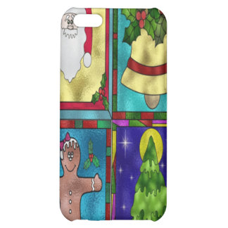 Stained Christmas Goodies iPhone 5C Cover