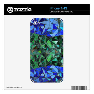 Stained Class Skin For The iPhone 4S