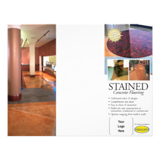 Stained Concrete Brochure