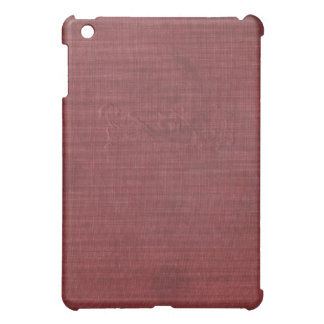 Stained Engraved Crimson Book Cover iPad Case