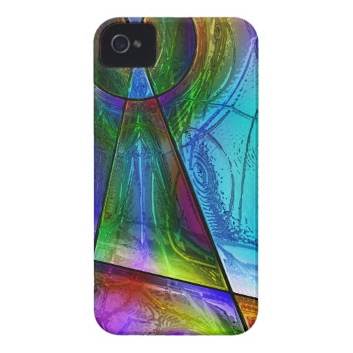 Stained Glass 1 iPhone 4 Case-Mate Case