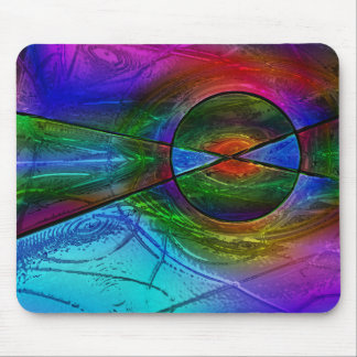 Stained Glass 1 Mouse Pad