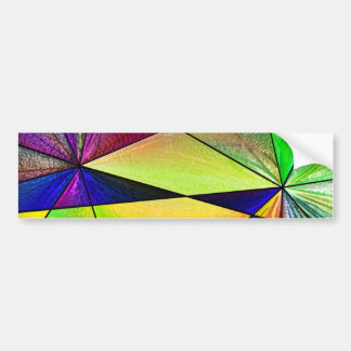 Stained Glass 5 Bumper Stickers