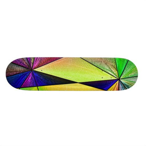 Stained Glass 5 Skateboards