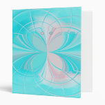 Stained Glass Abstract Butterfly Binder
