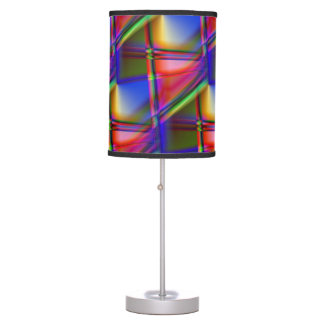 Stained Glass Abstract Desk Lamp