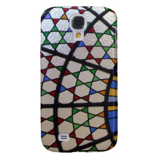 Stained glass abstract galaxy s4 case