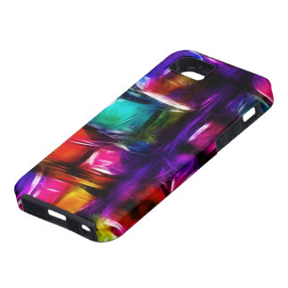 Stained Glass Abstract [iPhone4] iPhone SE/5/5s Case