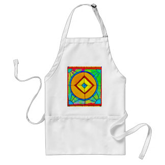 Stained Glass Adult Apron