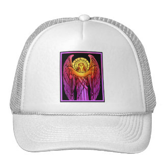 Stained Glass Angel Hat