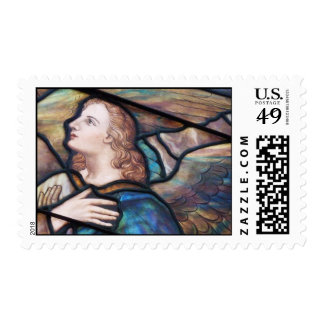 Stained Glass Angel Stamp