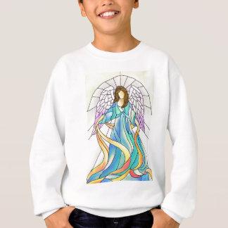 Stained Glass Angel Sweatshirt