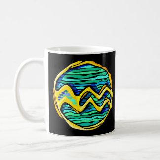 Stained Glass Aquarius Coffee Mug