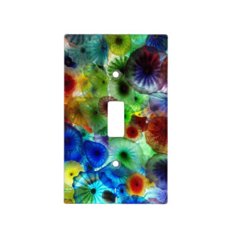 Stained Glass art designs Light Switch Covers