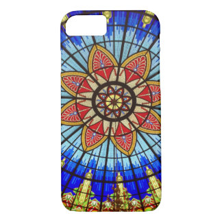 Stained Glass Art Nouveau Abstract iPhone 7 Case