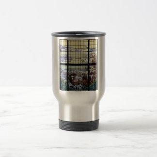 Stained Glass Art Nouveau Sea Scene Coffee Mug