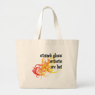 Stained Glass Artists Are Hot Canvas Bags