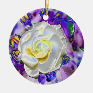 Stained Glass Beauty - Ornament