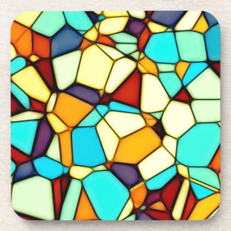 Stained Glass Beverage Coaster