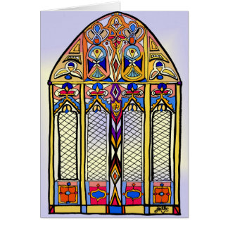 Stained Glass Blank Card