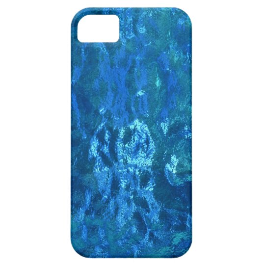 Stained Glass Blue iPhone SE/5/5s Case