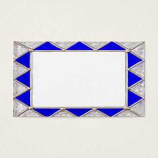 Stained Glass Border Business Card
