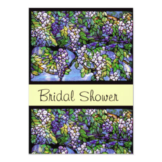 Stained Glass Bridal Shower Invitation