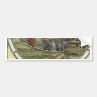 Stained Glass Bumper Sticker