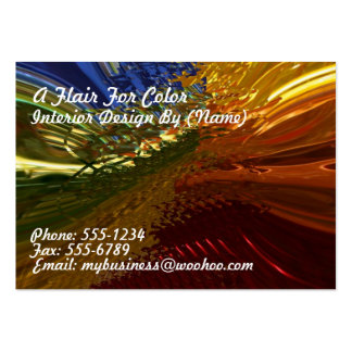 Stained Glass Large Business Cards (Pack Of 100)